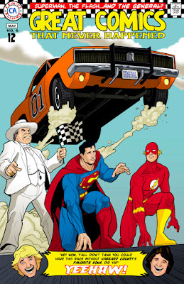 Superman, Flash, And The Dukes Of Hazard