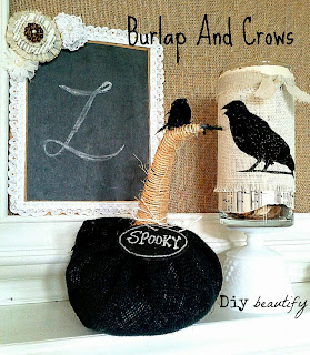 Dollar Store Craft for Halloween/Fall