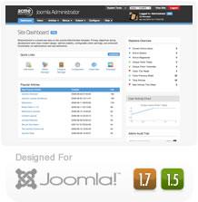 Free MissionControl - Joomla Administrator Template