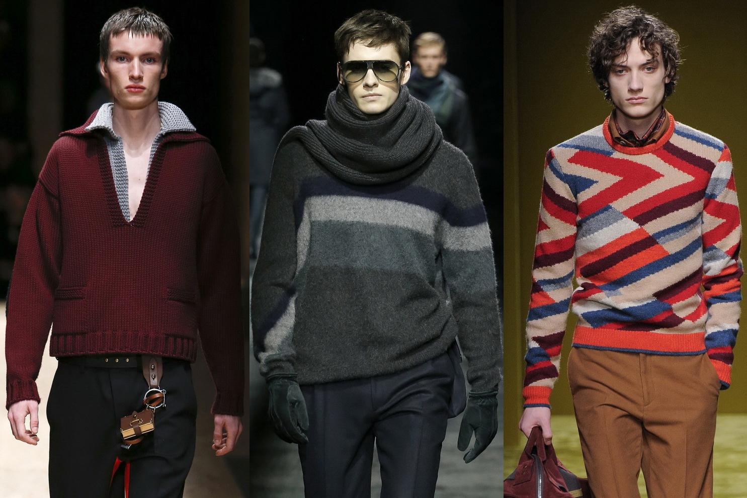 58cae2969cc1 Разгар зимнего сезона, праздники давно прошли и если есть желание можно  немного углубиться в тенденции моды современного мужского свитера и джемпера  от ...