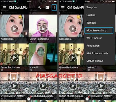 Cara Menampilkan Foto dan Video Tersembunyi di Android
