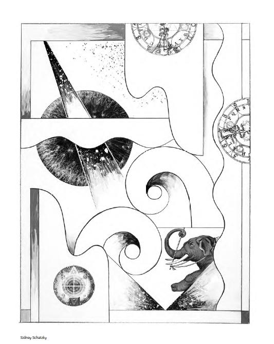 Artists Coloring Book : 22 Sid Schatzky