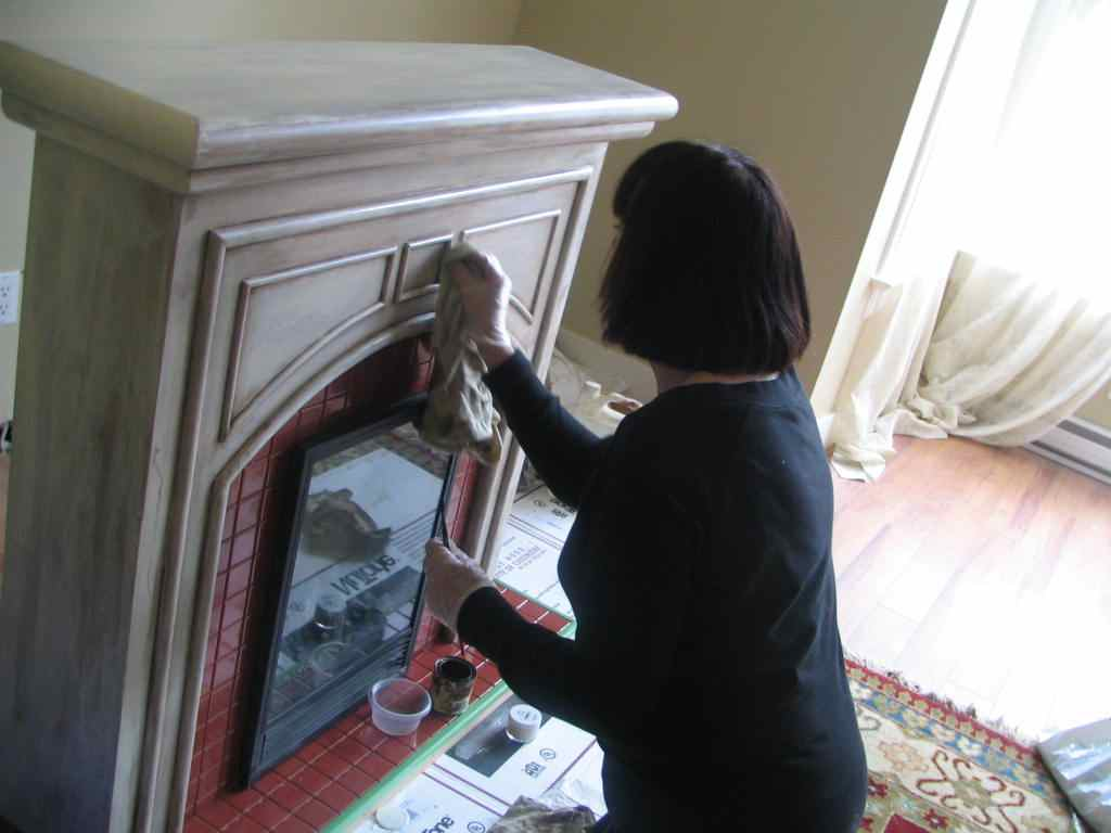 Up on Haliburton Hill: Transforming the fireplace