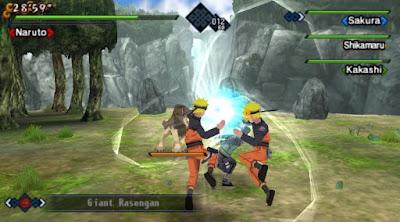Download Game Naruto Shippuden PSP