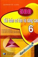 500 Bài Toán Cơ Bản Và Nâng Cao 6 - Nguyễn Đức Tấn