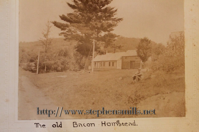 Homestead of Westmoreland Benjamin Bacon  and Rebecca Holmes childhood home of Abel Bacon.