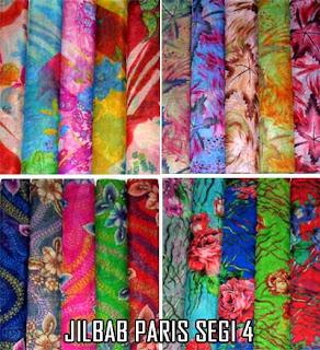 Grosir jilbab paris murah motif terbaru 2015