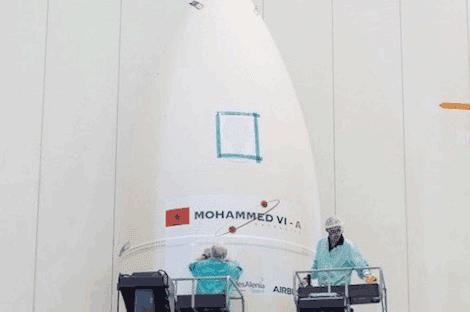 القمر الصناعي المغربي الجديد محمد السادس ب