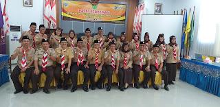 Ketua Umum Satuan Karya Pramuka SBH Daerah Jambi Buka Rakor SKBH Tingkat Provinsi Jambi.
