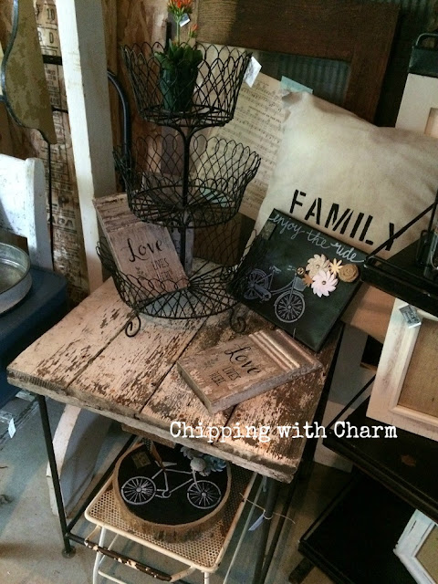 Chipping with Charm: Shed Sweet Shed Boutique May 2016...www.chippingwithcharm.blogspot.com