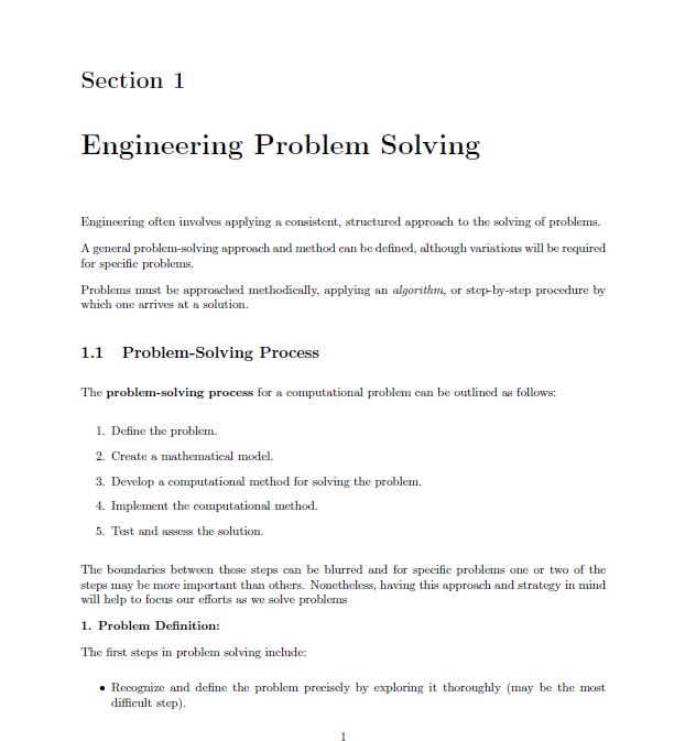 Download PDF MATLAB Programming by David Kuncicky   Dunia PDF