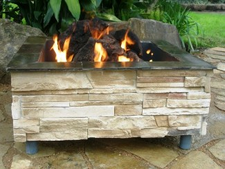 Home Products Mountain Ledge Outdoor Firepit Huge Savings