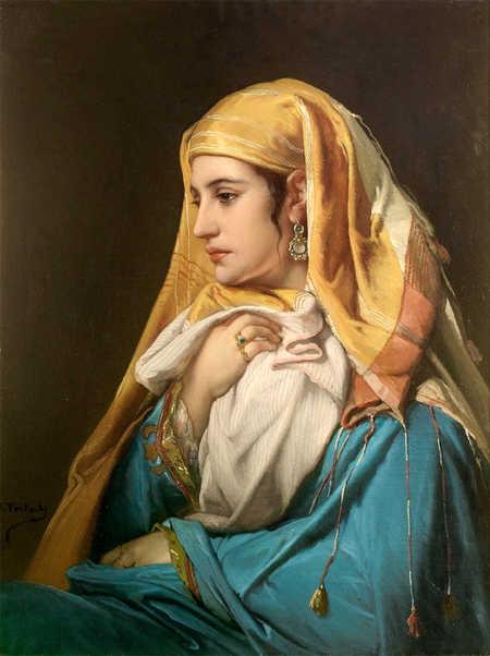 لوحات Orientalist للفنان Jean FranCois