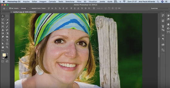 Primeiros Passos Como Clarear Dentes No Photoshop Canal Adobe