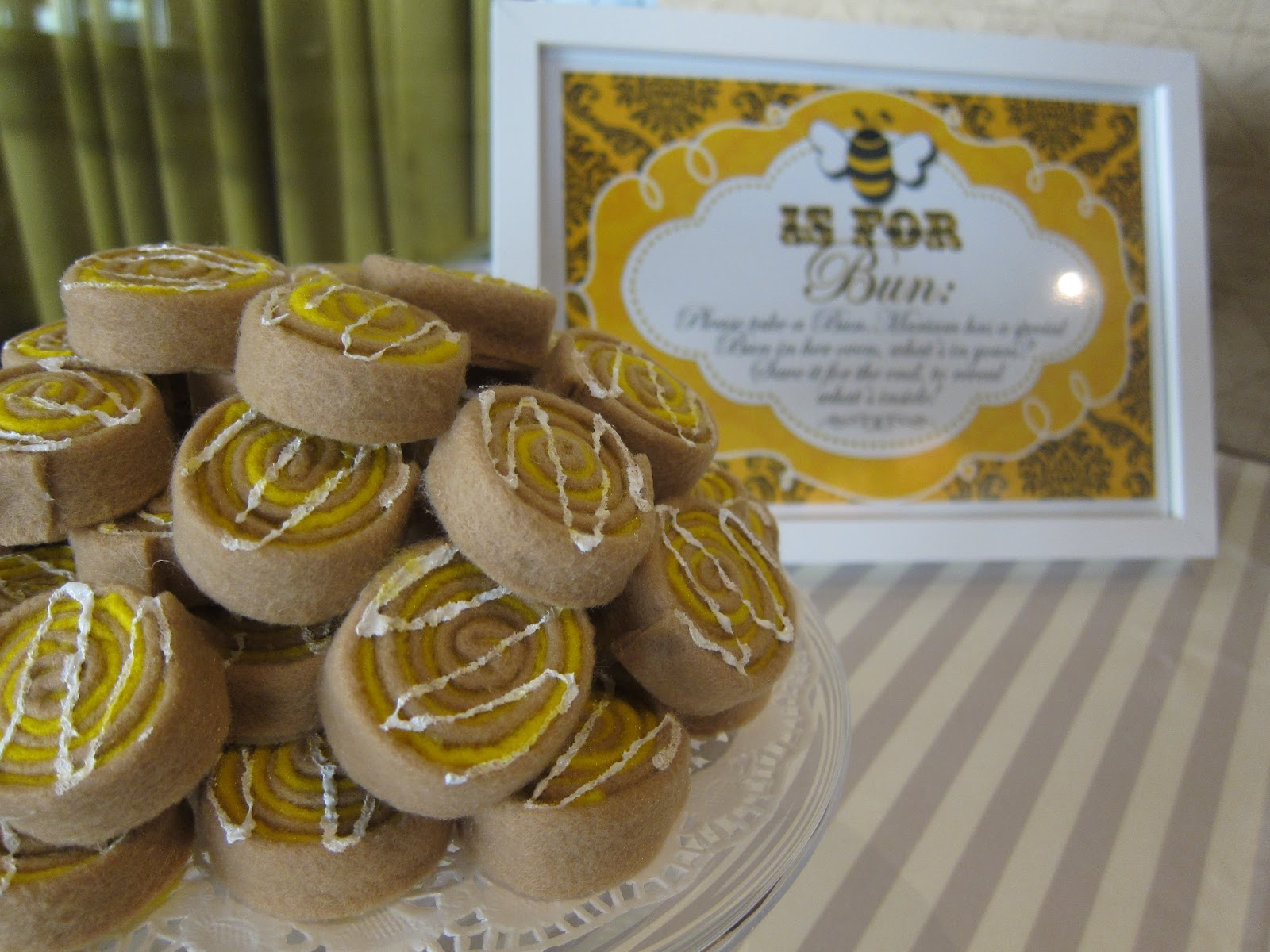 Culinary Delights By Saba Wahid Mimis Bumble Bee Baby Shower