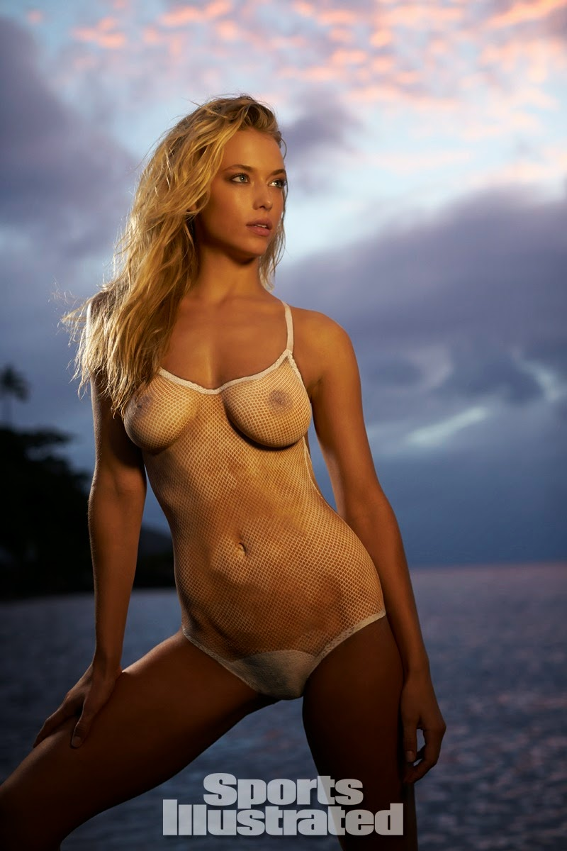 hannah ferguson swimsuit body paint