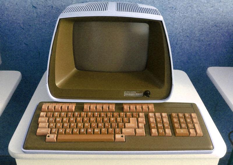 Gambar komputer pertama di dunia