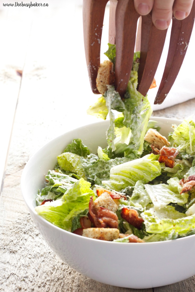 How to make Caesar salad sauce