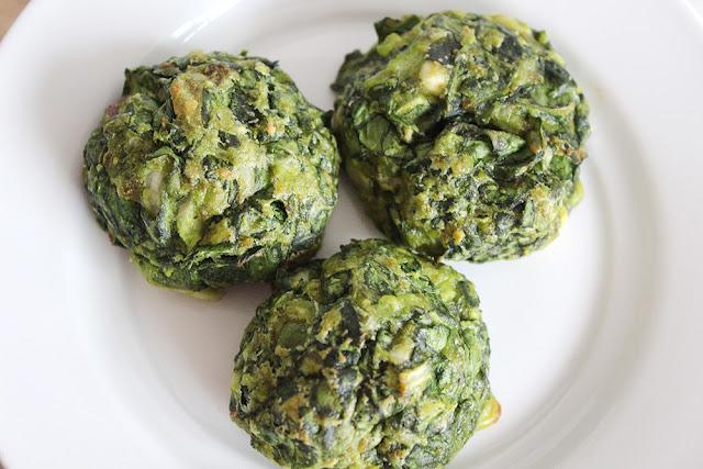 Parmesan Feta Spinach Puffs