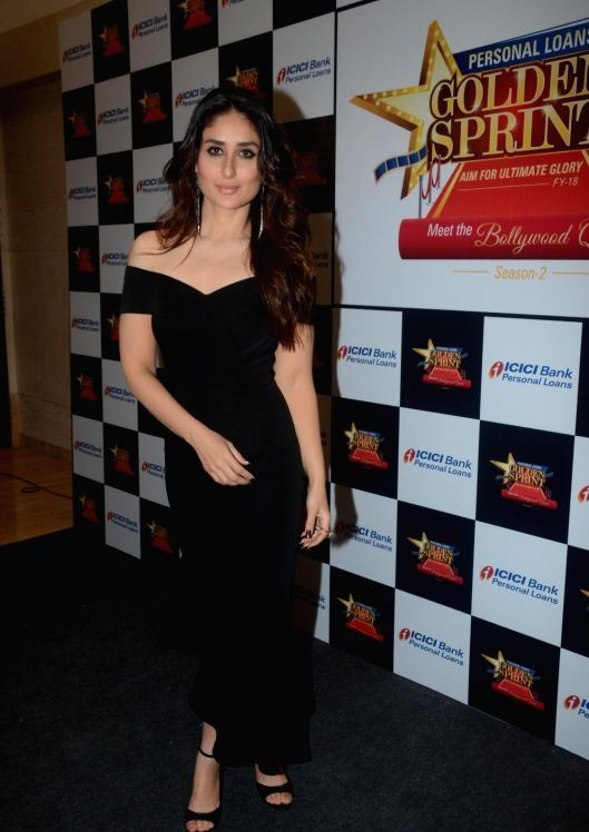 Kareena Kapoor Khan In Black Dress At a Programme in ...
