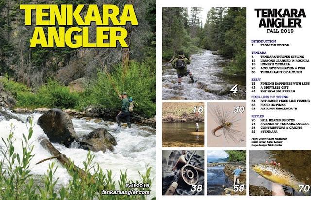 Tenkara Tuesday: Tenkara Angler Magazine Fall 2019