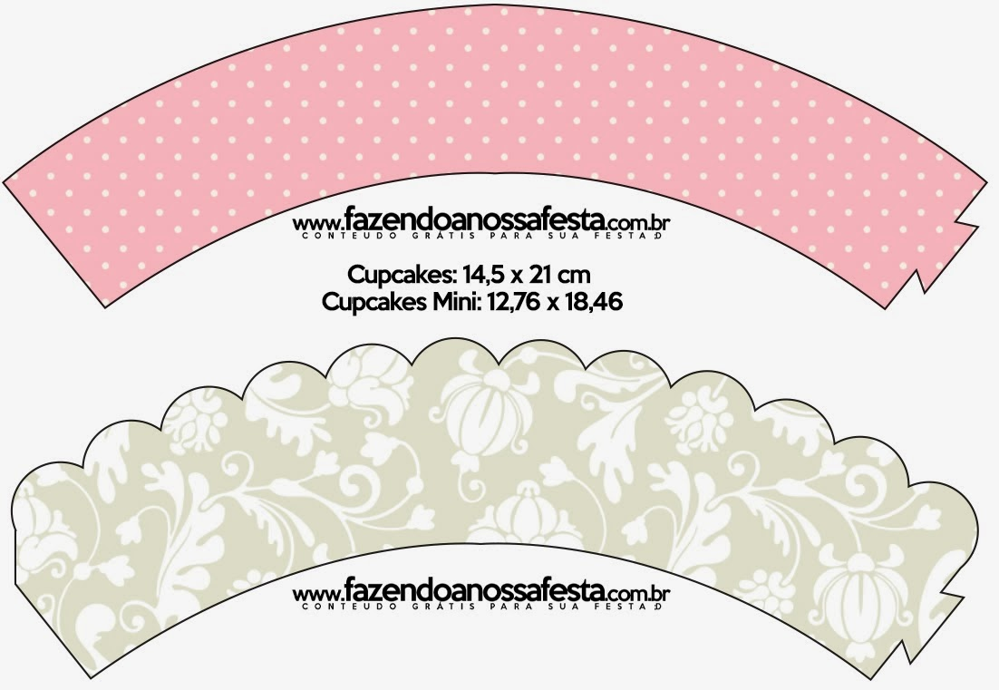 Provencal In Pink And Grey Party Free Printables Oh My