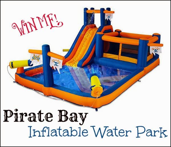 Enter to win the Pirate Bay Water Park Giveaway. Ends 3/27.