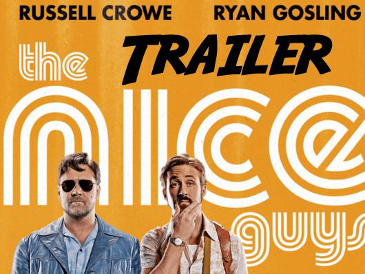 Nuevo tráiler de 'Dos buenos tipos' con Russell Crowe y Ryan Gosling