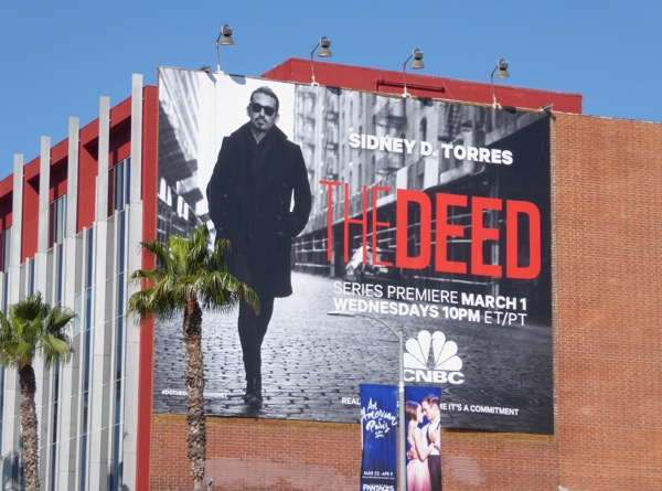 The Deed series premiere billboard