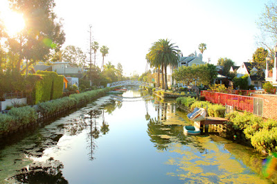 Venice Canals - Venice Beach, CA. Photo by Mademoiselle Mermaid.