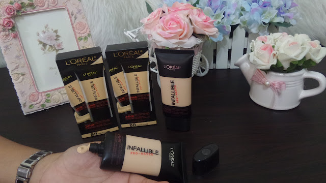 Fondation LOREAL PARIS INFALLIBLE PRO-MATTE FOUNDATION