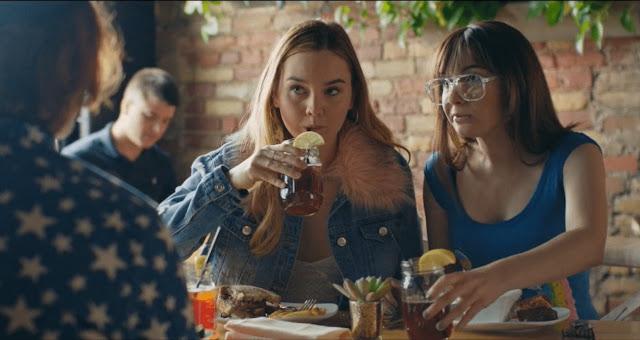 Hannah Marks Liana Liberato Benjamin Kasulke | Banana Split | Vancouver Just for Laughs Film Festival 2019