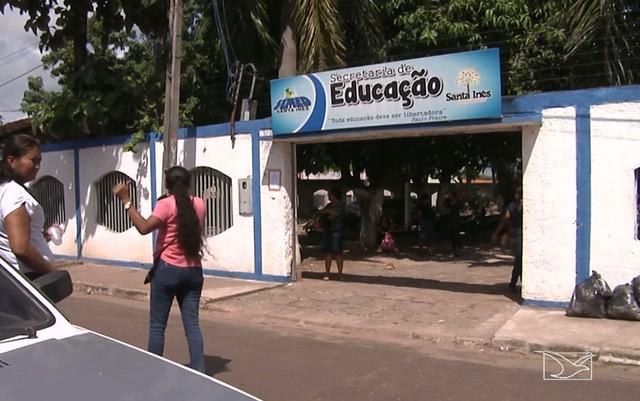 Professores da rede municipal realizam protesto em Santa Inês