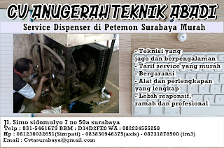 Service Dispenser di Petemon Surabaya Murah