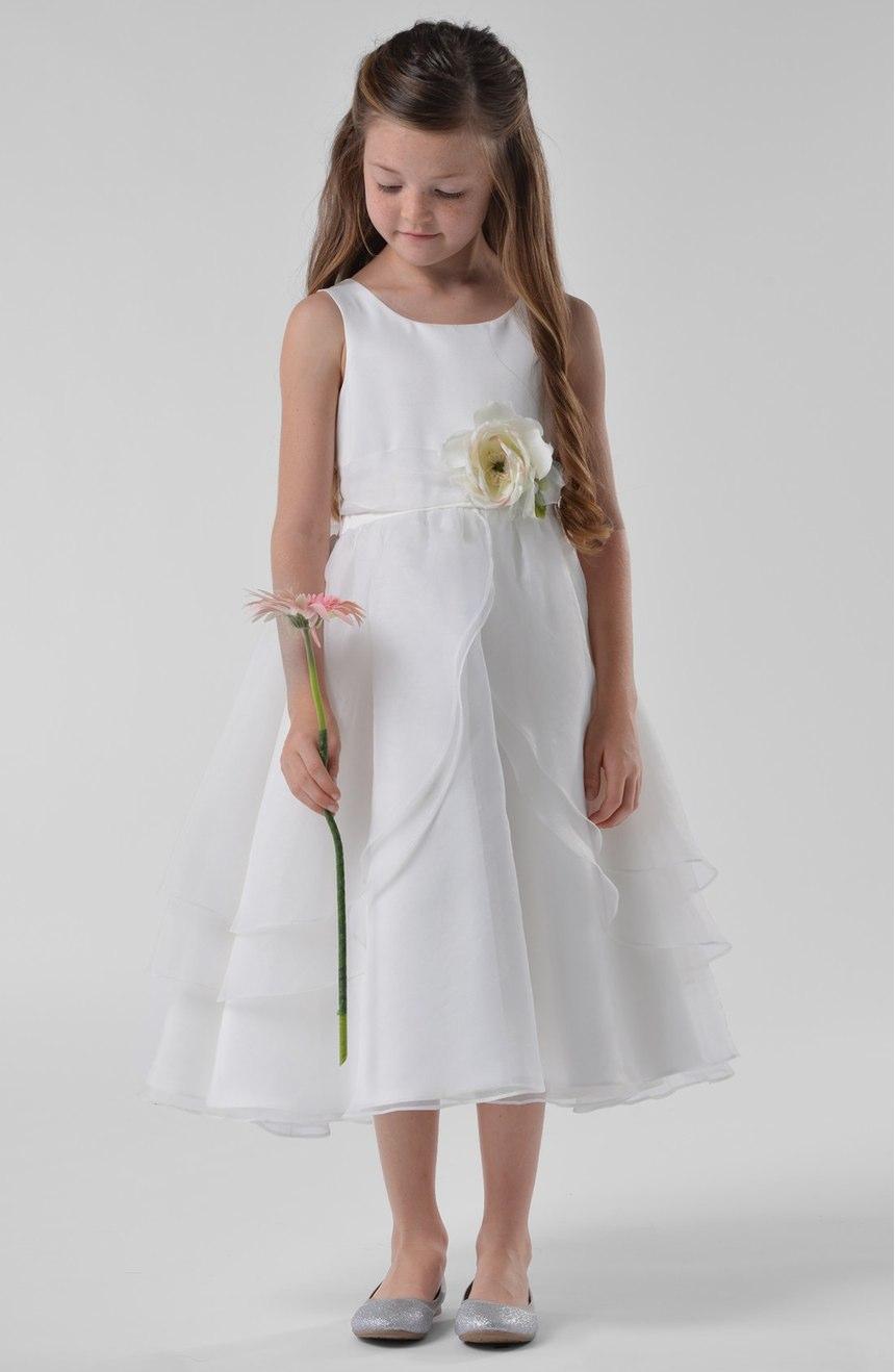 vestidos de primera comunion cortos con tirantes