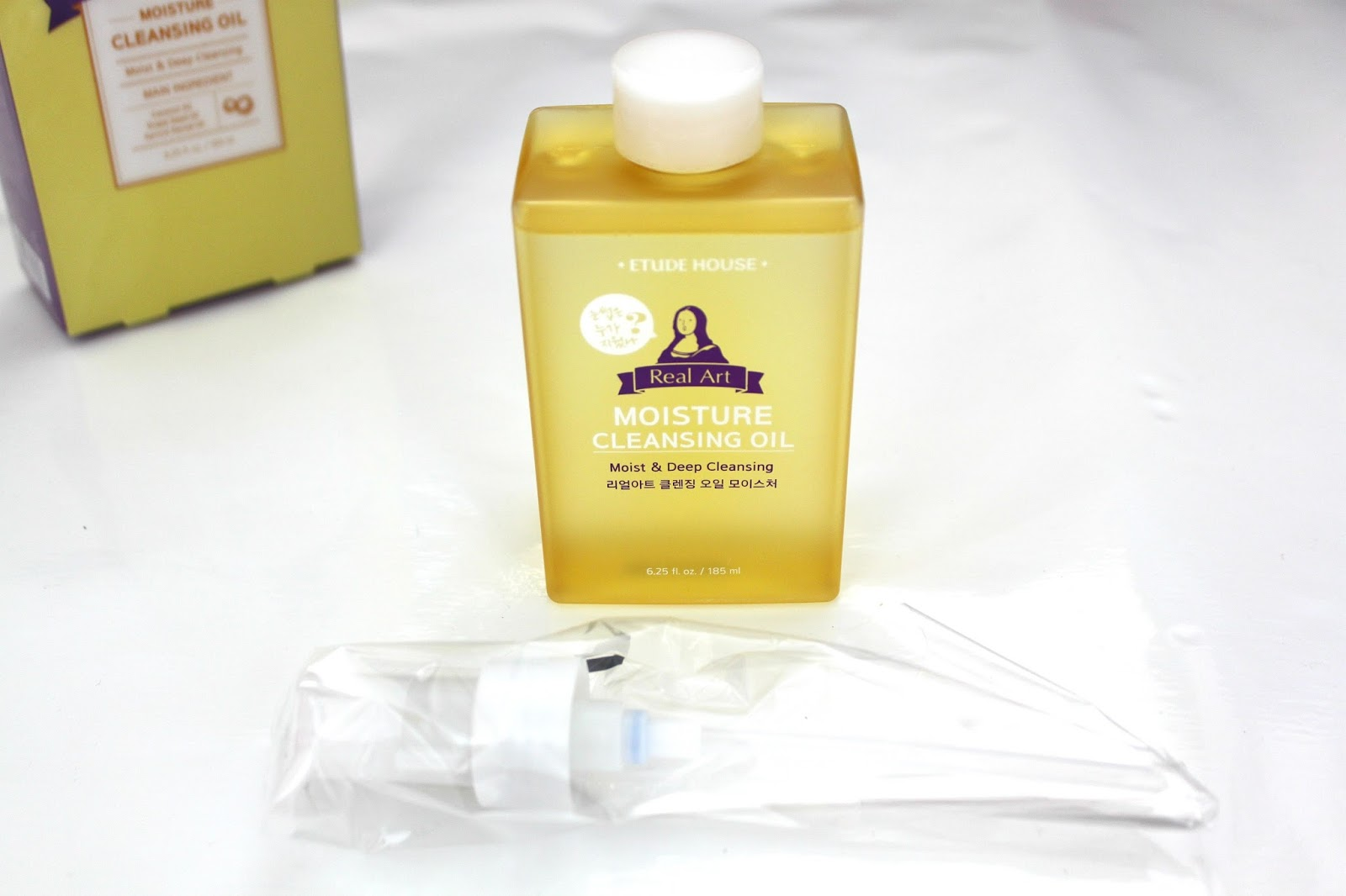 Etude House Real Art Cleansing Oil makeup remover blog review
