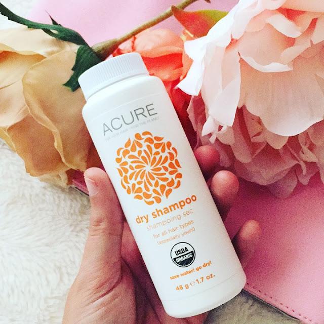 Dry shampoo de Acure