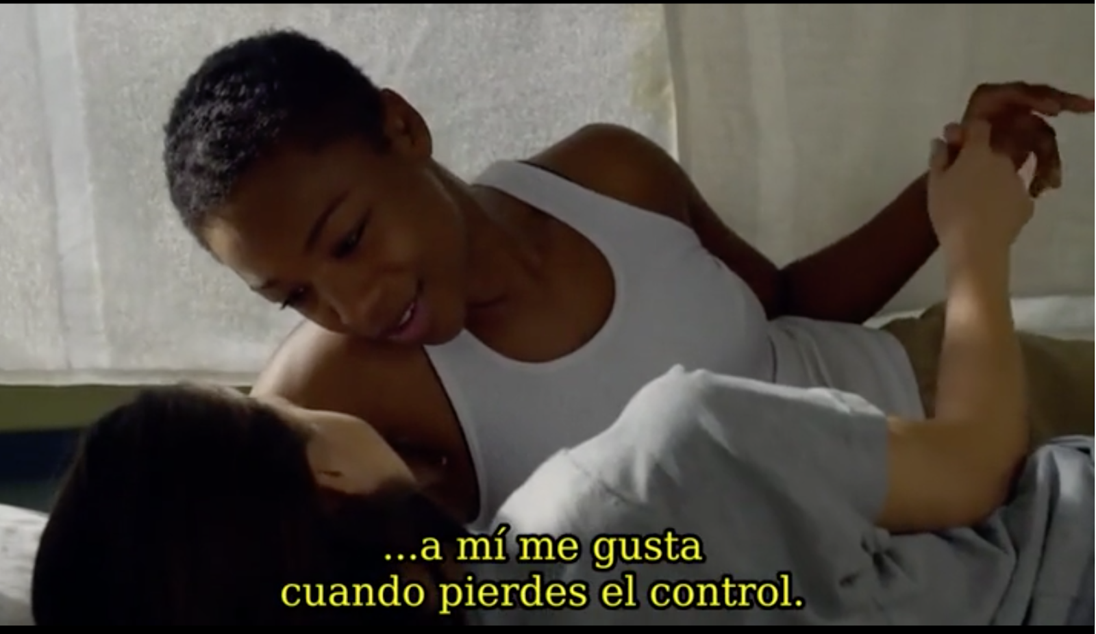 Pousse y Soso, momento erótico en Orange Is The New Black