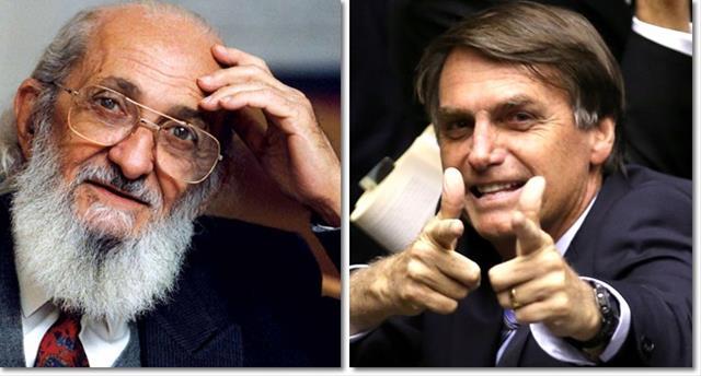 Bolsonaro promete extirpar Paulo Freire da educação Brasileira