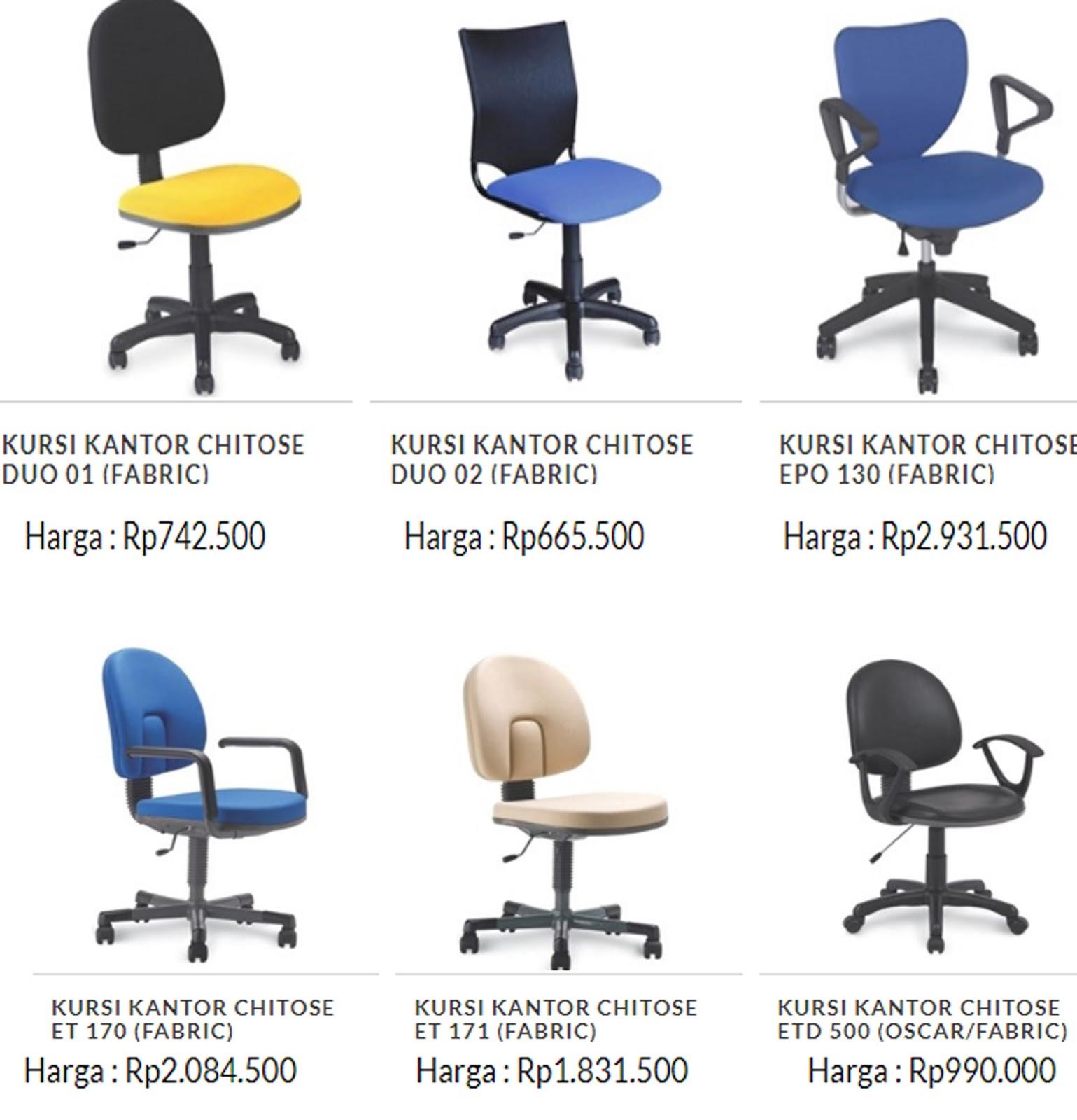 6200 Koleksi Kursi Kantor Merk Chitose HD