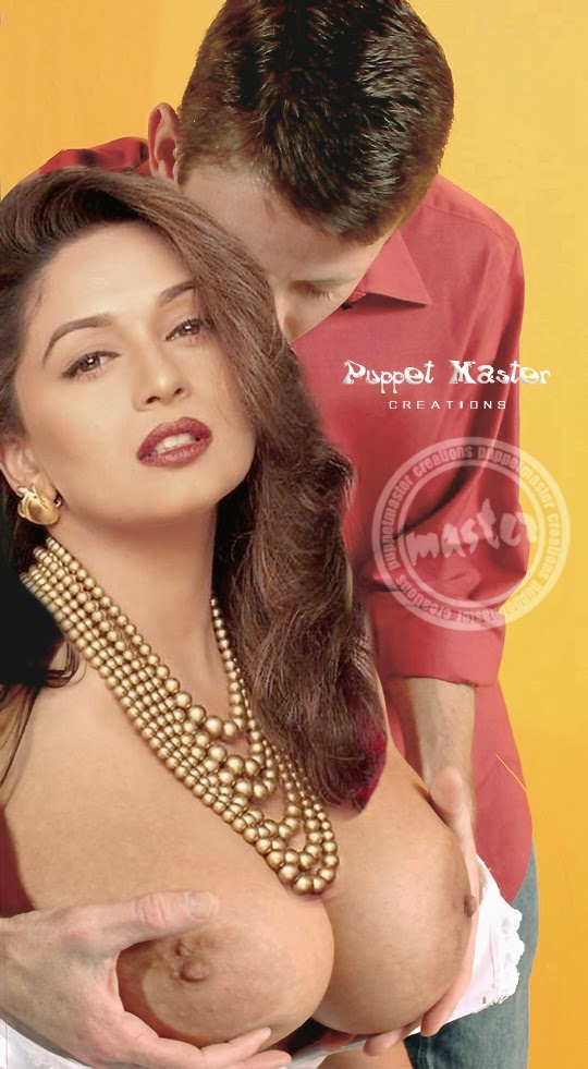 Nude madhuri with boy