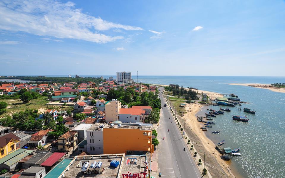 Cửa biển Nhật Lệ Quảng Binh