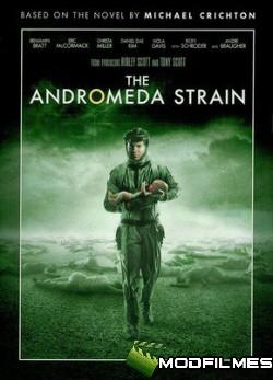 Capa do Filme O Enigma de Andrômeda