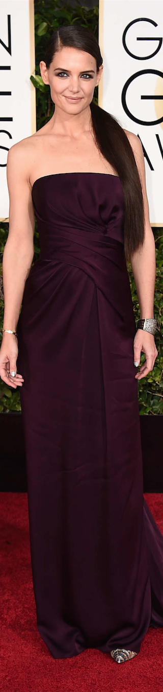 Katie Holmes 2015 Golden Globe Awards