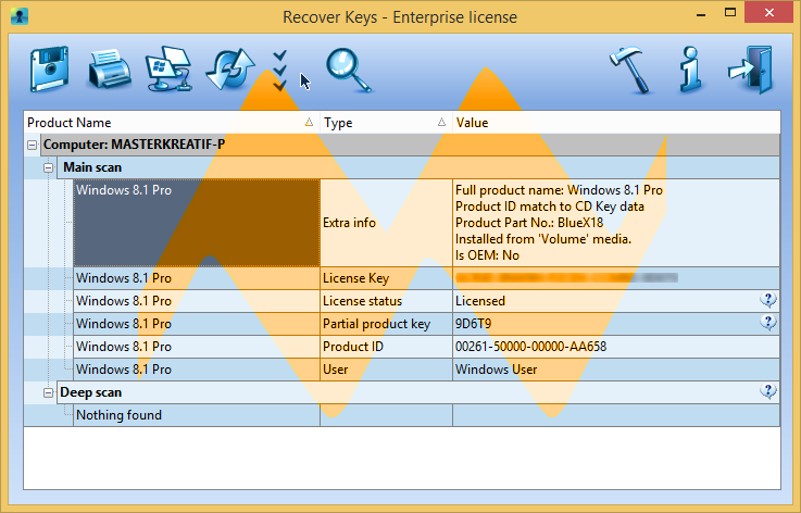 Recover Keys 8 Enterprise Full Crack