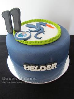 bolo futebol clube porto bragança dragão