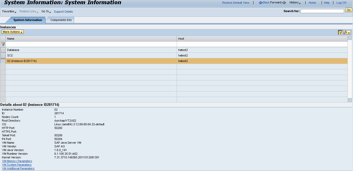 Upgrade of SAP Netweaver 7 3 EHP1 JAVA (SP application