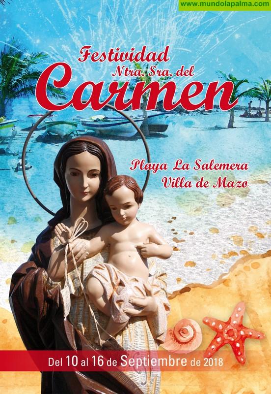 a Playa de La Salemera celebra la festividad de la Virgen del Carmen