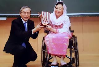 Mendunia, Nyai Sinta Nuriyah Wahid Terima Penghargaan dari Universitas Jepang