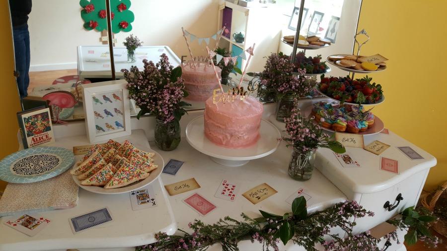 Fresh Alice in Wonderland birthday party ideas